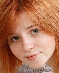 innocent redhead teen
