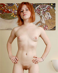 Young dutch girls posing nude