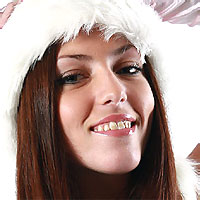 christmas teen girl
