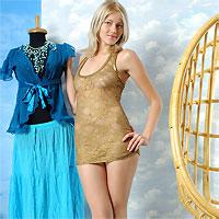 slim blonde naked