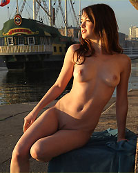 beauty nude girl next door